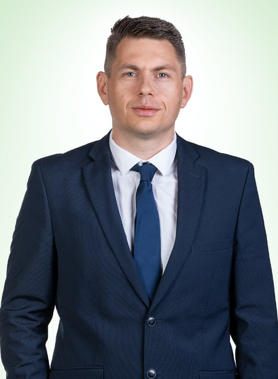 Kristian Ljubič – Regional Director of Marketing and Sales, SEE Region – CARSO pharm